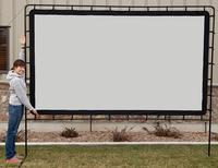"$149.99 Camp Chef 120"" Portable Outdoor Projection Screen"